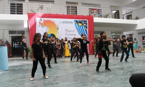Students Dance Performance in Campus