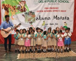 dps preprimary interschool sports meet